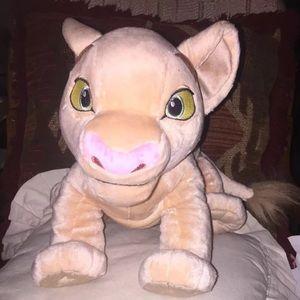 "Disney Store 20"" Baby NALA Cub Plush"